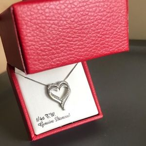 Jewelry - Diamond heart necklace